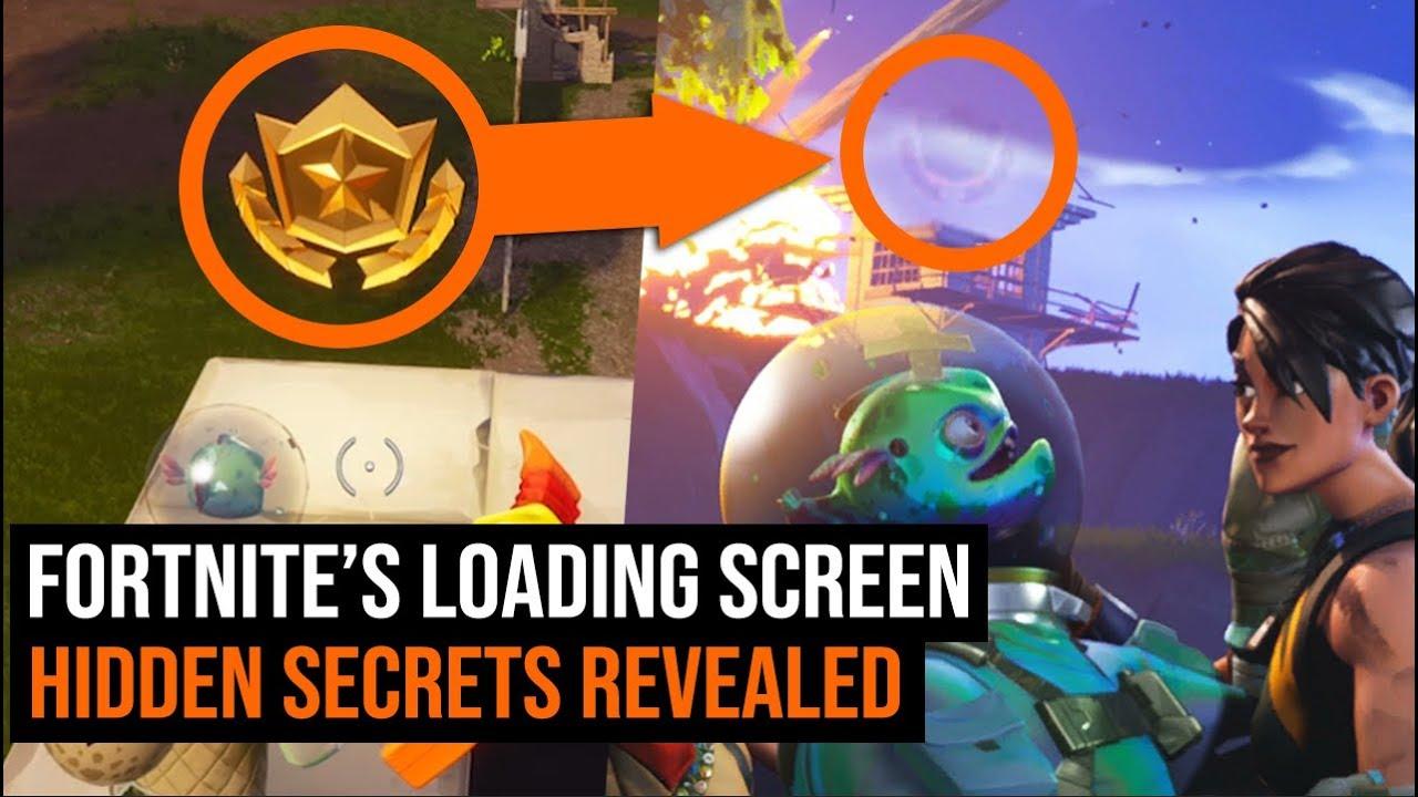 Fortnite S Loading Screen Hidden Secrets Revealed Blockbuster