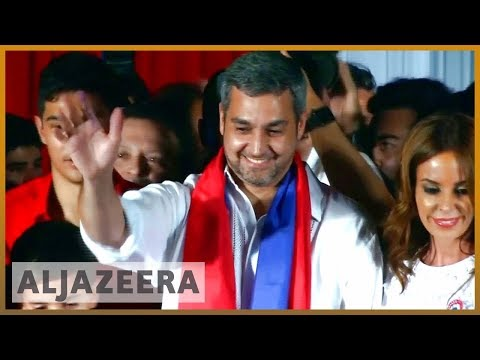 🇵🇾 Mario Abdo Benitez elected as Paraguay's president | Al Jazeera English