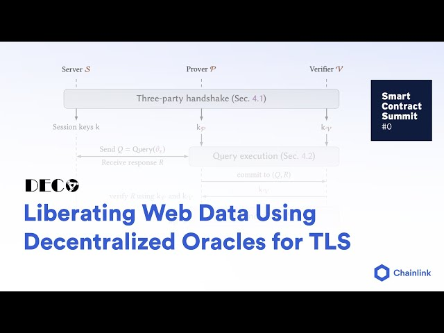 Ari Juels DECO Presentation: Liberating Web Data Using Decentralized Oracles for TLS