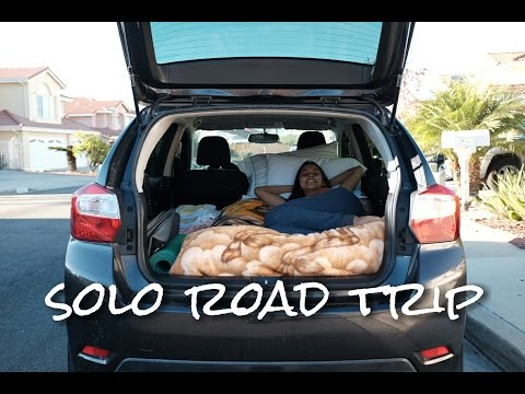 Solo road trip: sleeping in my car and exploring beaches