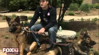 Wounded Veteran Bonds With New Guide Dogs - Wtic Fox Connecticut