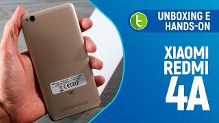 Xiaomi Redmi 4A: unboxing e primeiras impressões | TudoCelular.com