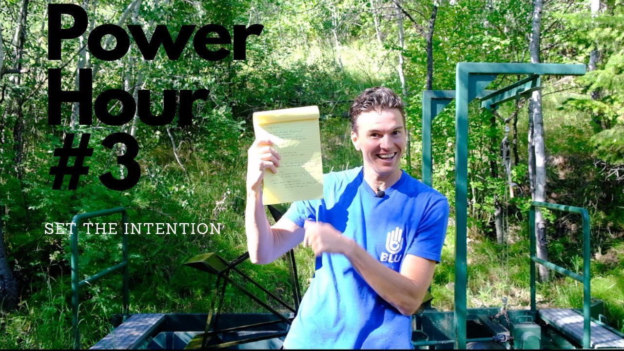 POWER HOUR #3-SET THE INTENTION-
