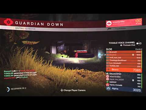 Destiny Control Sniping On Asylum  24 kills