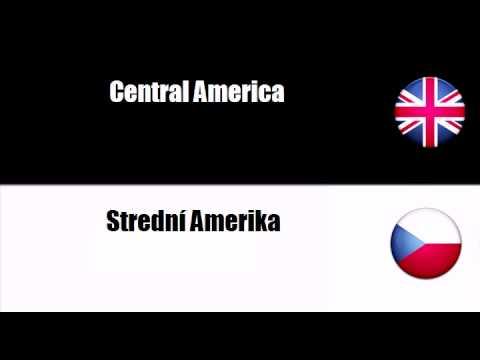 ENGLISH CZECH   America