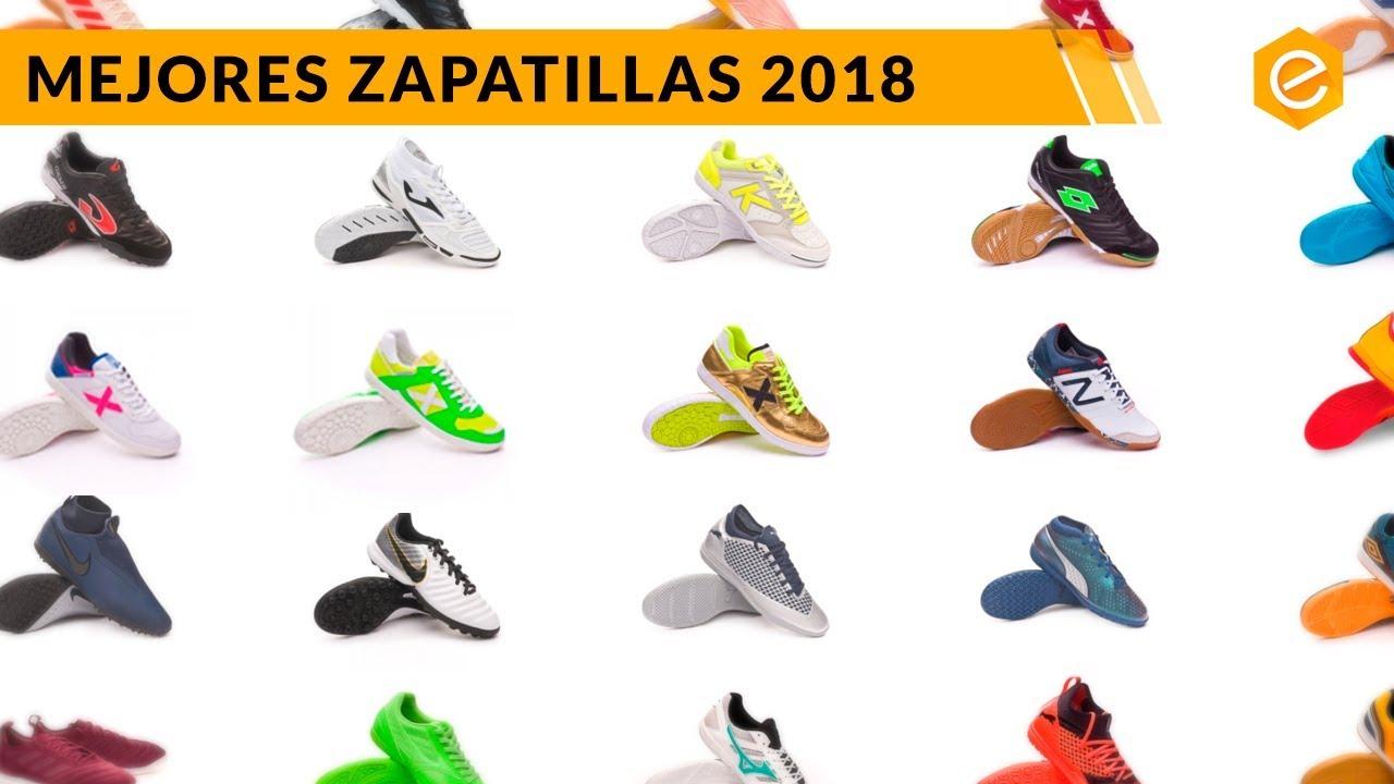TOP 5 ZAPATILLAS de FUTBOL SALA 2018