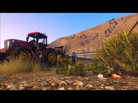 GTA V music video big green tractor  by Jason Alden