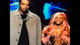 Lil' Kim & Jay-Z at the New York Magazine Awards (1999)
