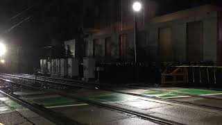 【夜間回送】阪急線内を回送されるのせでん車両