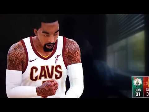 PhillipForeman07: NBA 2K18 NEW Gameplay!! Cavaliers vs Celtics (Part 2)