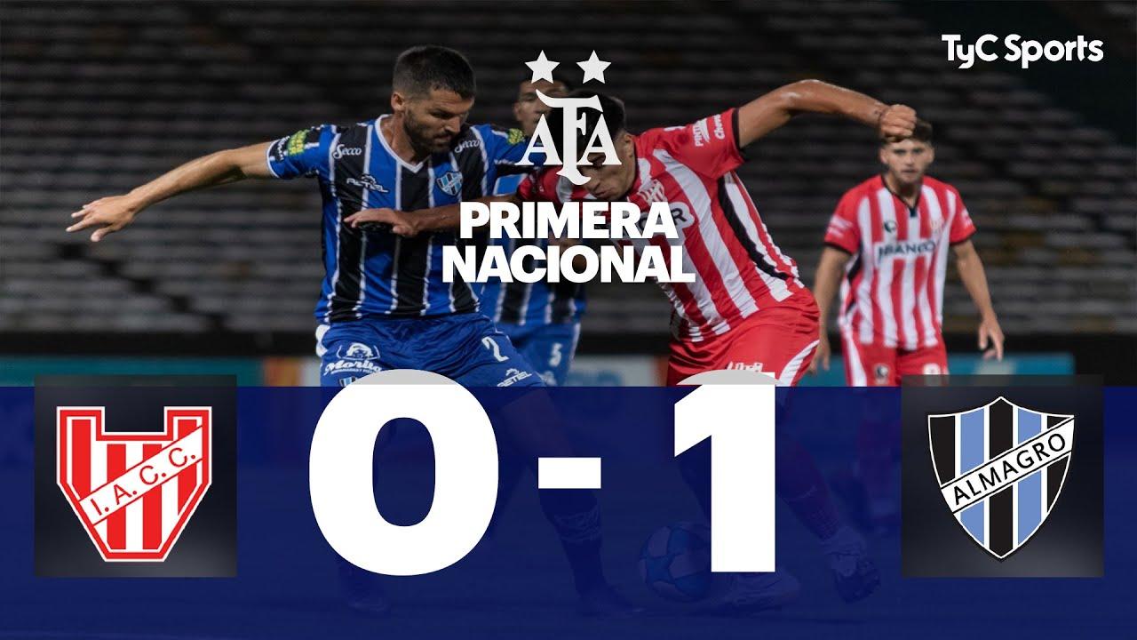 Instituto 0-1 Almagro | Primera Nacional