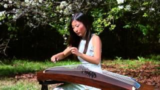 """""""The Butterfly Lovers""""-梁祝 Gu Zheng Bei Bei 荷蓓蓓"""