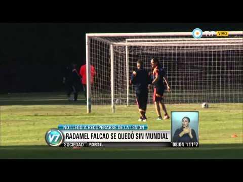 Visión 7 - Radamel Falcao se quedó sin mundial