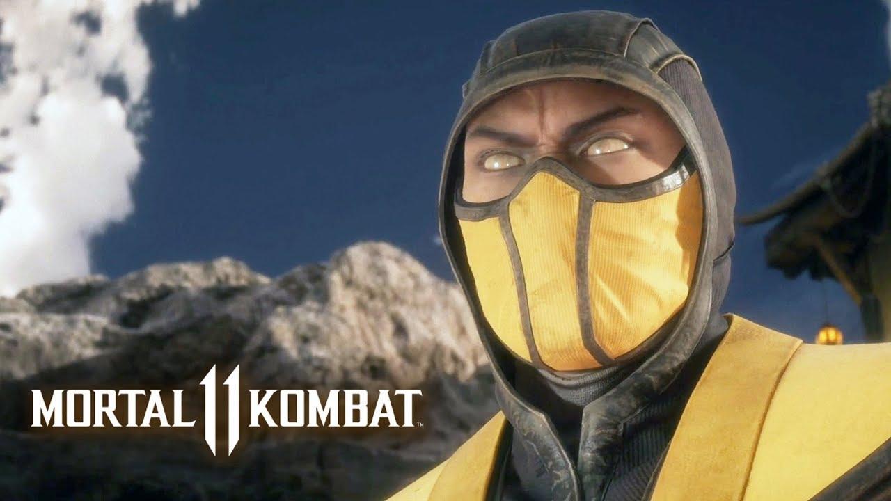 MORTAL KOMBAT 11 #10 - Scorpion | Campanha em Português PT-BR no PS4 Pro