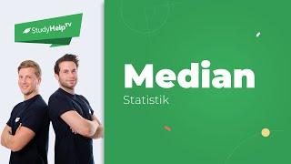 Median - ausführlich erklärt - Statistik