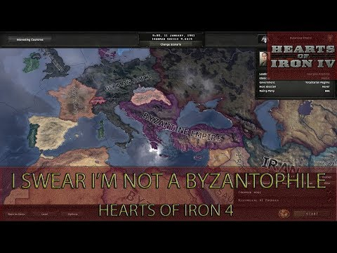 Hearts Of Iron 4 - I Swear I'm Not a Byzantophile Achievement Guide