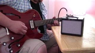 Fender Mini Deluxe Amp MD 20 Demo - Ryan Michad