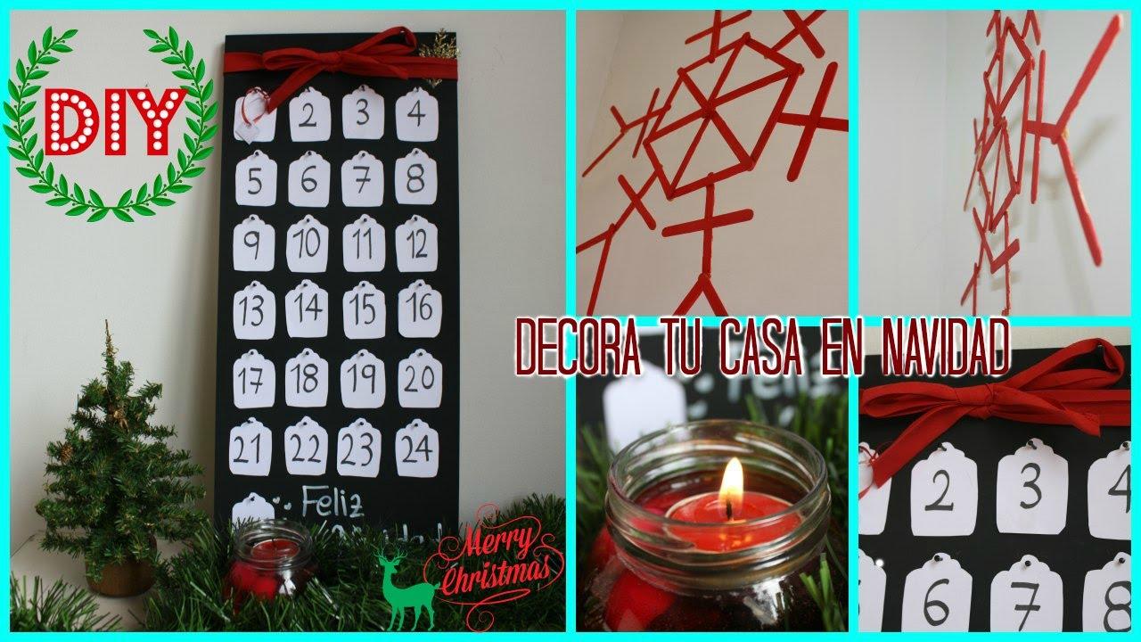 diy las mejores ideas para decorar tu casa en navidad
