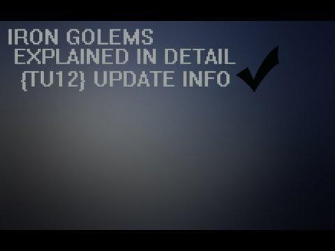 Minecraft: Xbox 360 - Iron Golems Explained [TU12]
