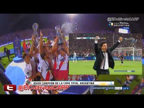 (Costa Febre) River Plate 2 vs Atl. Tucumán 1 - Campeón Copa Argentina 2017 I ElCultivetaCARP