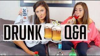 Drunk Q&A ft. Caitlin Bea || Sarah Belle