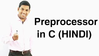 Preprocessor in C (HINDI/URDU)
