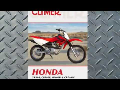 clymer manuals honda xr80r crf80f xr100r crf100f maintenance repair rh youtube com honda xr80 manual pdf free honda xr80 manual pdf free
