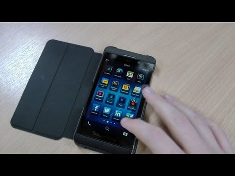 blackberry z10 case official flip shell review black acc. Black Bedroom Furniture Sets. Home Design Ideas