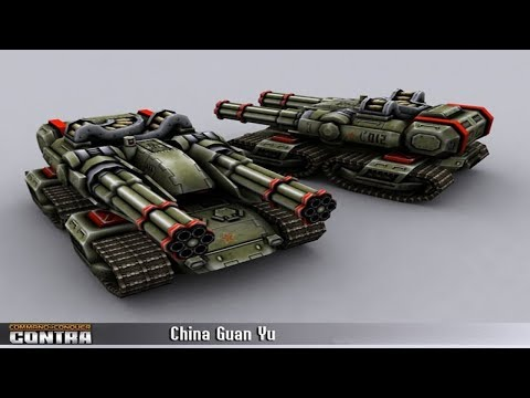 Contra Mod / China Infantry General/ Superior Numbers