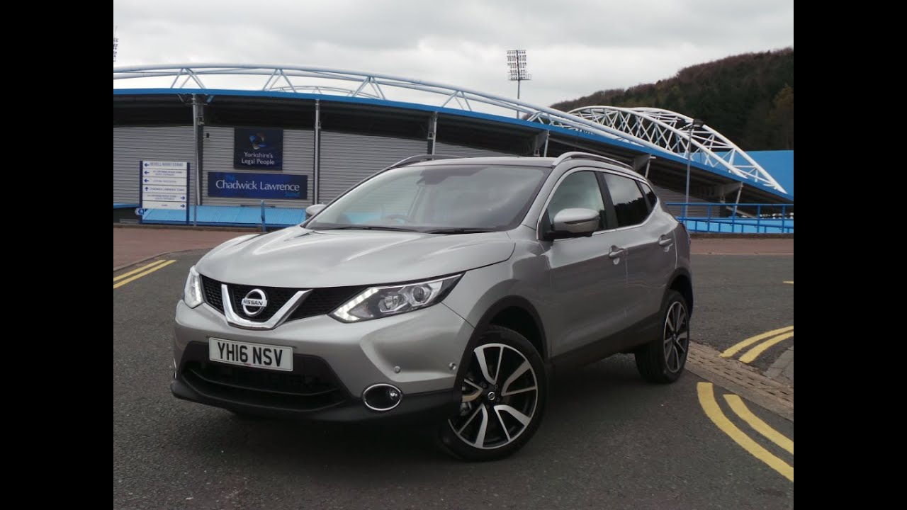 2016 16 nissan qashqai 1 6 dci tekna 5dr 4wd delivery miles in silver youtube. Black Bedroom Furniture Sets. Home Design Ideas