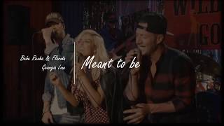 Meant to Be  -  Bebe Rexa, Florida, Georgia Line (letra y traduccion al español)