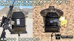 5.56 Incendiary (API) vs. AR500 Armor® Level III Body Armor