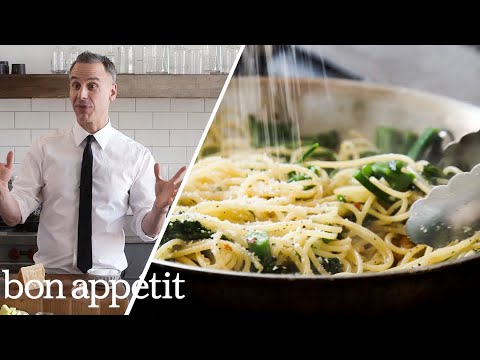 Adam Makes Cacio e Pepe, the New Way | Bon Appétit