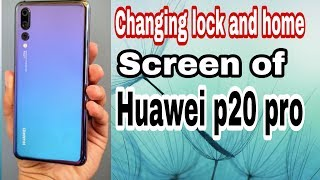 Huawei P20 Pro Default Home Scre | Jeetx