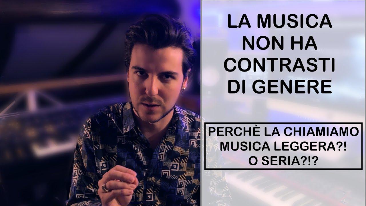 LA MUSICA NON HA CONTRASTI TRA GENERI
