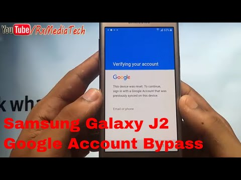 Samsung Galaxy J2 SM-J200 Remove FRP google Account  bypass I New Method 2017 I Bypass 100%