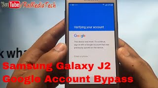 vuclip Samsung Galaxy J2 SM-J200 Remove FRP google Account  bypass I New Method 2017 I Bypass 100%