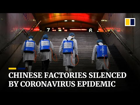 Chinese factories struggle