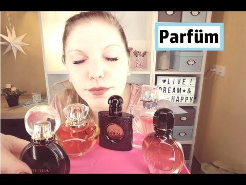 Meine Beautysammlung - Heute: Parfum