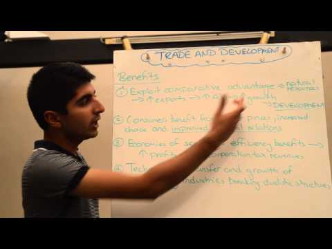 Y2/IB 13) International Trade and Development (Benefits)