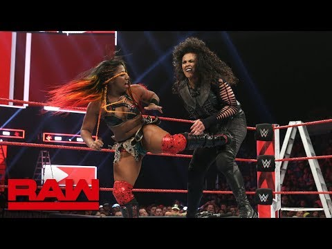 Ember Moon vs. Tamina: Raw, Dec. 10, 2018