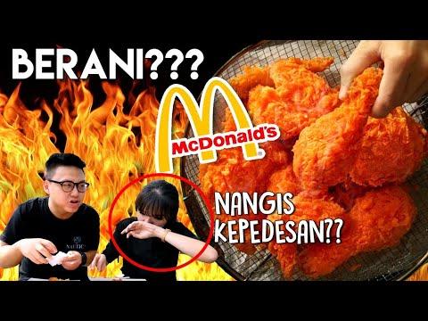 SPICY CHICKEN McDonald's  Pedasnya Lebay ??