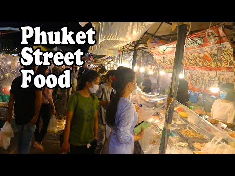Street Food July 2020 😷 - Thai Food In Phuket, Thailand.
