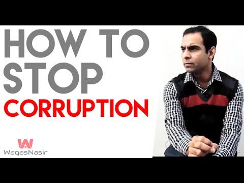 How to Stop Corruption in Pakistan - By Qasim Ali Shah (In Urdu/Hindi)
