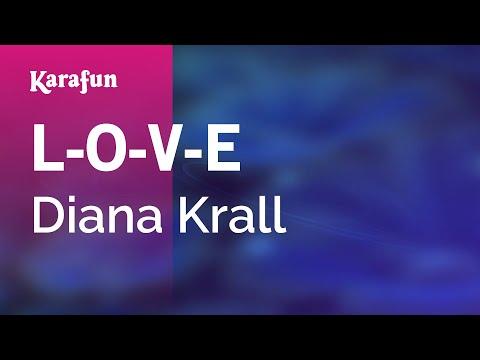 Karaoke L-O-V-E - Diana Krall *