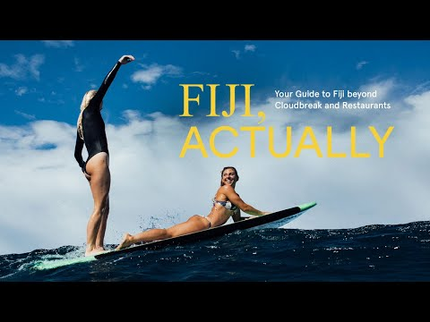 Sage Erickson, Macy Callaghan, Laura Enever, And Hannah Bennett Explore Fiji's Overlooked Coastline