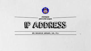 JKD - Pert 7 - Ip Address prt 1