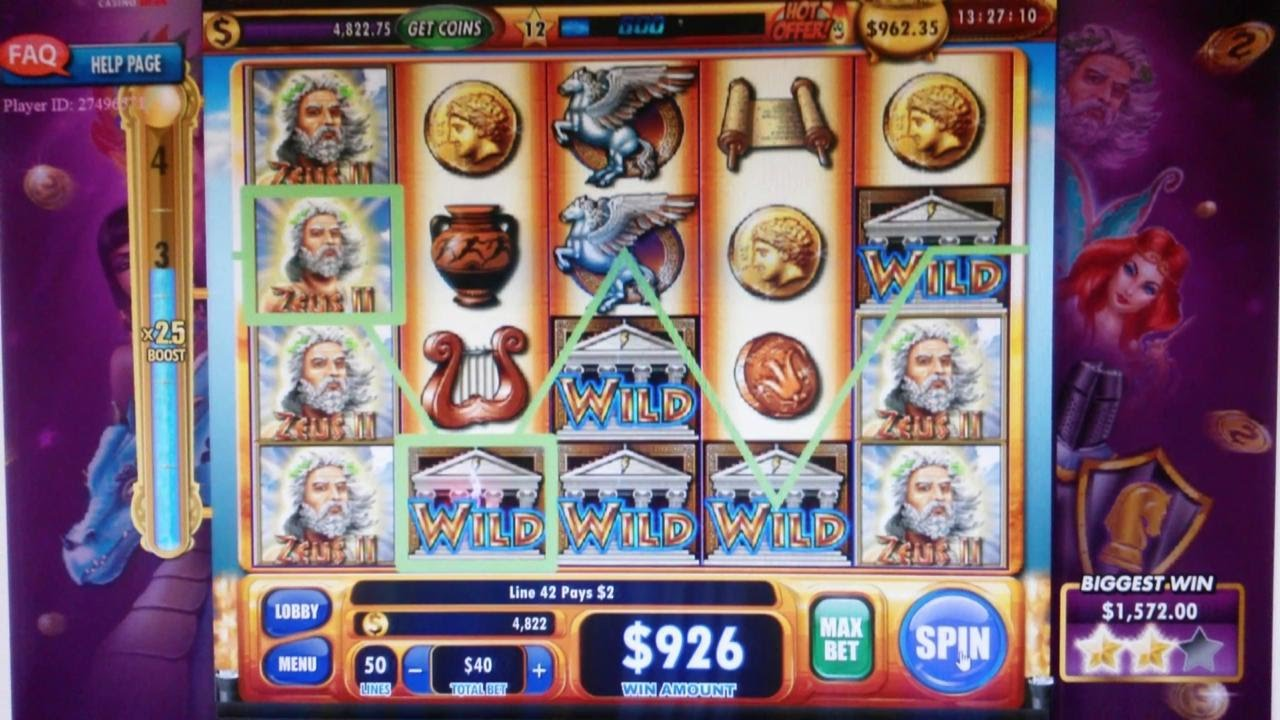 Casino Slot Wins