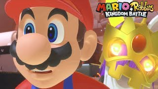 Mario + Rabbids Kingdom Battle: Mario vs Lava Queen (Boss Battle)