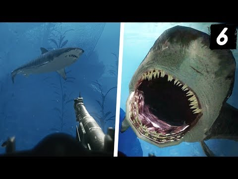 Call of Duty Ghosts Campaign - Part 6 - SHARKS